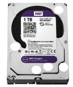 (R12) 3x 1.0 TB WD Purple Surveillance 3.5 SATA Hard Drive. (All Units Have Been Formatted).
