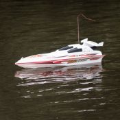 (R11I) 2x Red5 7008 Boat RC Racing Boat.