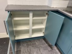 Small Fitted Kitchen With Lamona Sink And Taps