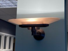 Pair Art Deco Wall Mounted Up Lights