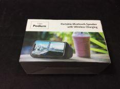 I-Box Podium Portable Bluetooth Speaker 79231PI