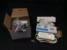Bag of Electrical Items To Include LED Driver SE40560