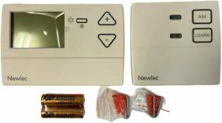 Newlec Wireless 7 Day Programmable Room Thermostat - NL7RFPRT