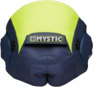 Mystic 2020 Aviator Seat Harness - Navy/Lime. MEDIUM SIZE - NAVY & LIME COLOUR