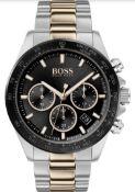 Hugo Boss 1513757 Men's Hero Sport Lux Two-Tone Chronograph Watch