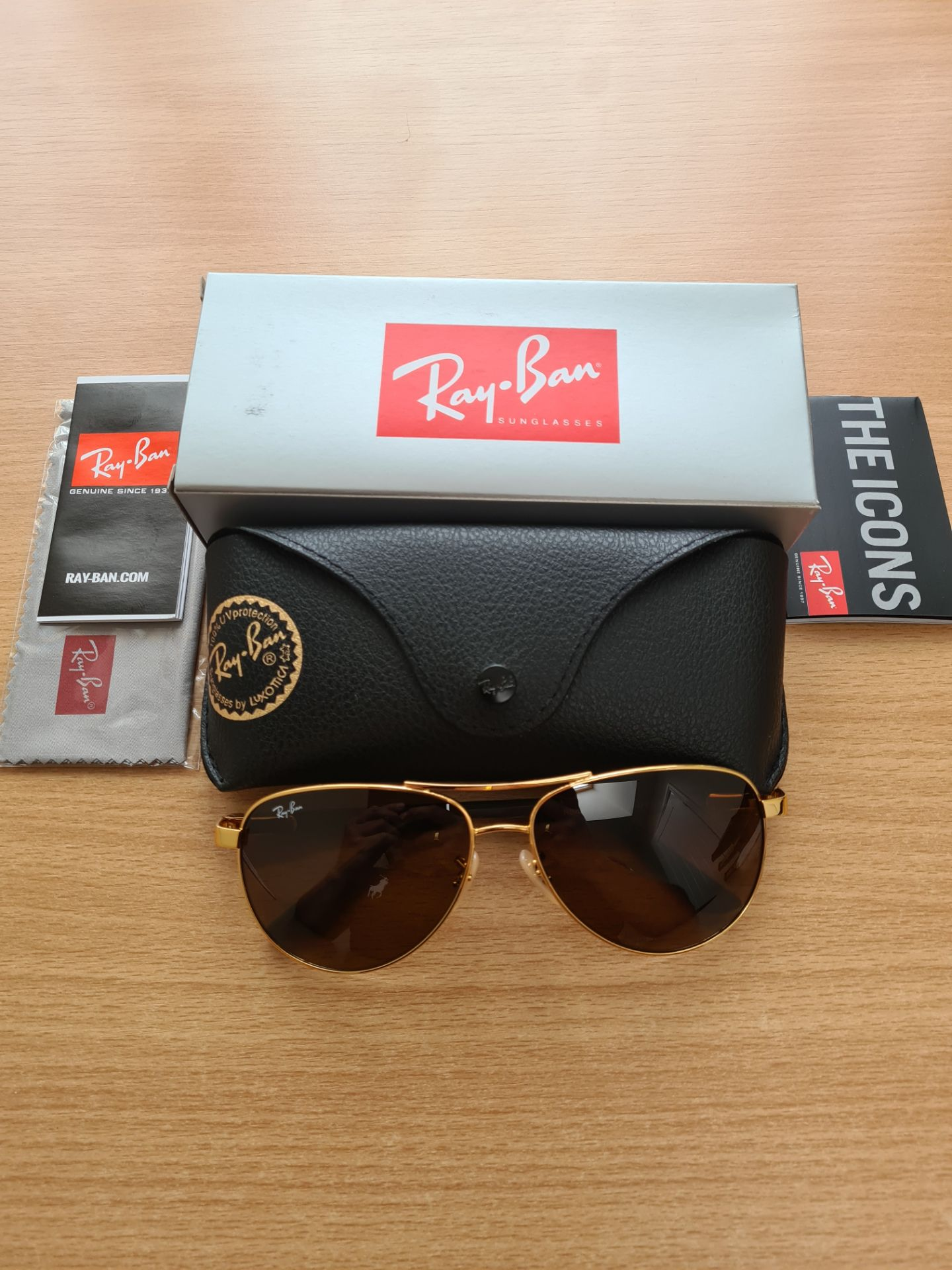 Ray Ban Sunglasses ORB8313 001/33 2N