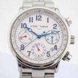 Ulysse Nardin / Marine Chronograph 353 22 - Gentlemen's Steel Wrist Watch