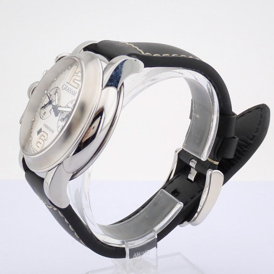 Graham / Chronofighter RAC - Gentlemen's Steel Wrist Watch - Image 5 of 12