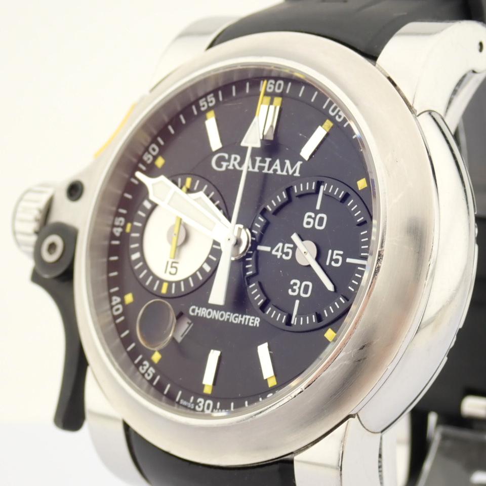 Graham / Chronofighter RAC Trigger - Gentlemen's Steel Wrist Watch - Image 8 of 14