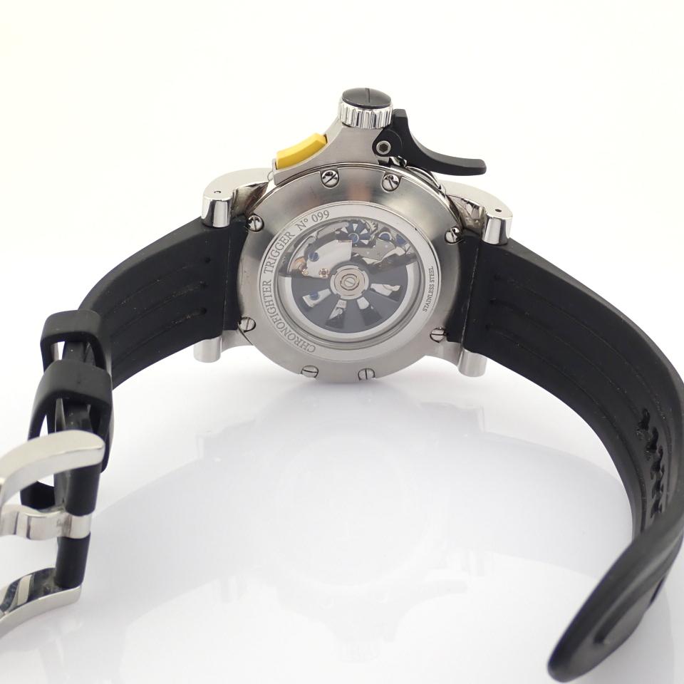 Graham / Chronofighter RAC Trigger - Gentlemen's Steel Wrist Watch - Image 4 of 14