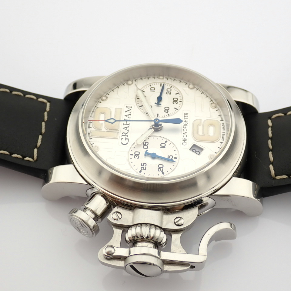 Graham / Chronofighter RAC - Gentlemen's Steel Wrist Watch - Image 8 of 12