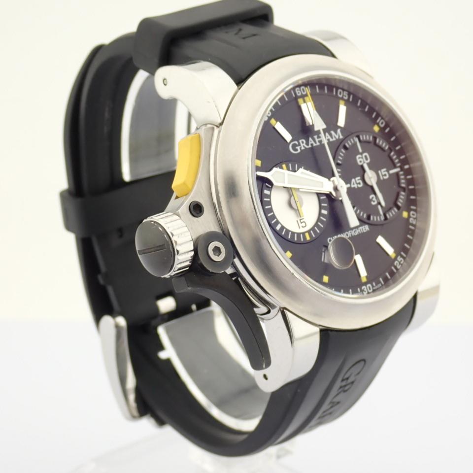 Graham / Chronofighter RAC Trigger - Gentlemen's Steel Wrist Watch - Image 9 of 14