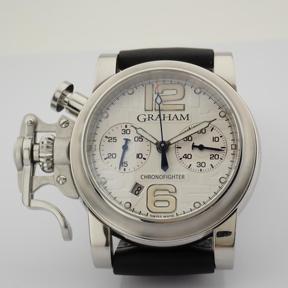 Graham / Chronofighter RAC - Gentlemen's Steel Wrist Watch - Image 12 of 12