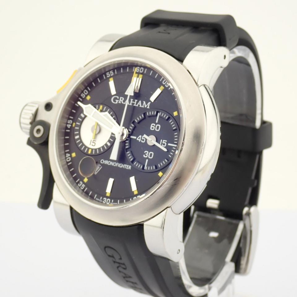 Graham / Chronofighter RAC Trigger - Gentlemen's Steel Wrist Watch - Image 7 of 14