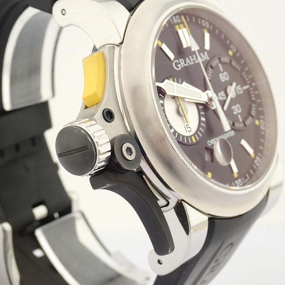 Graham / Chronofighter RAC Trigger - Gentlemen's Steel Wrist Watch - Image 11 of 14