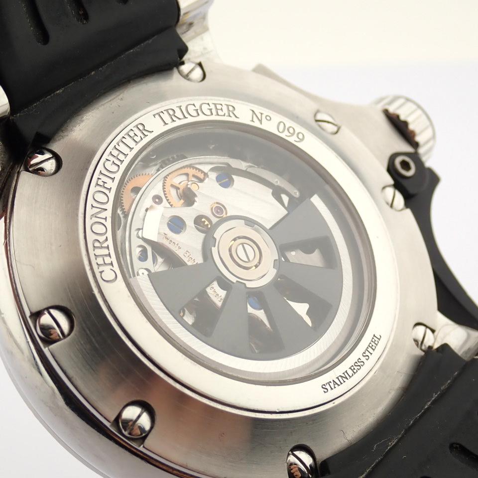 Graham / Chronofighter RAC Trigger - Gentlemen's Steel Wrist Watch - Image 3 of 14