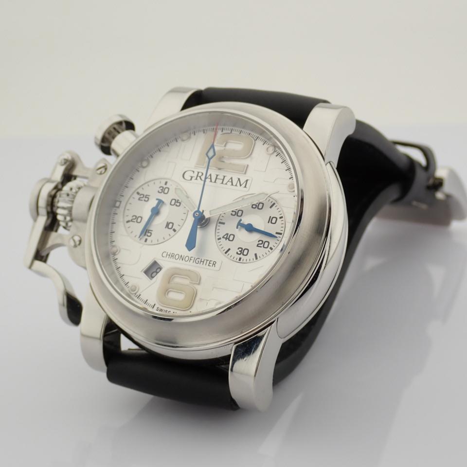 Graham / Chronofighter RAC - Gentlemen's Steel Wrist Watch - Image 2 of 12