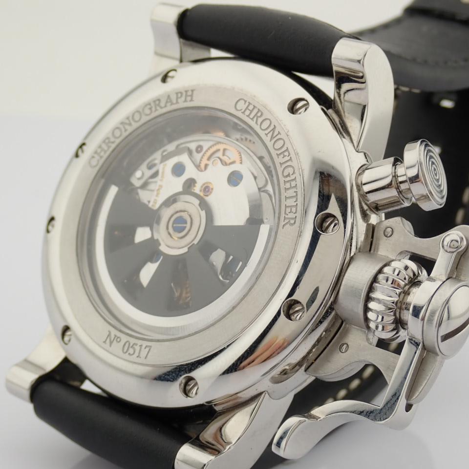 Graham / Chronofighter RAC - Gentlemen's Steel Wrist Watch - Image 11 of 12
