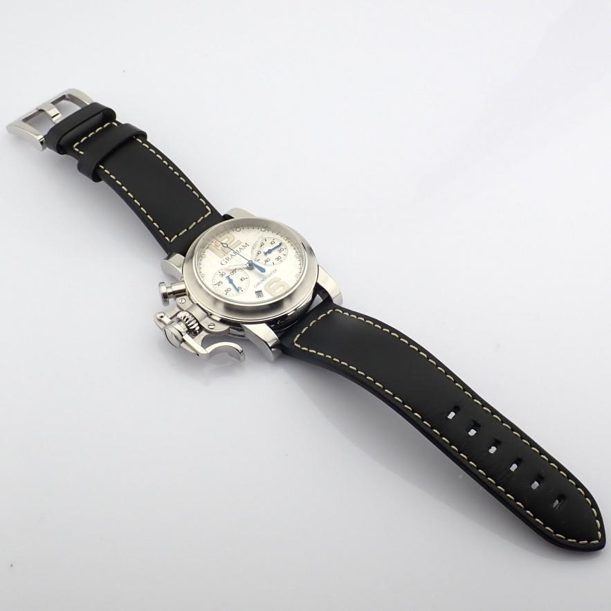 Graham / Chronofighter RAC - Gentlemen's Steel Wrist Watch - Image 7 of 12