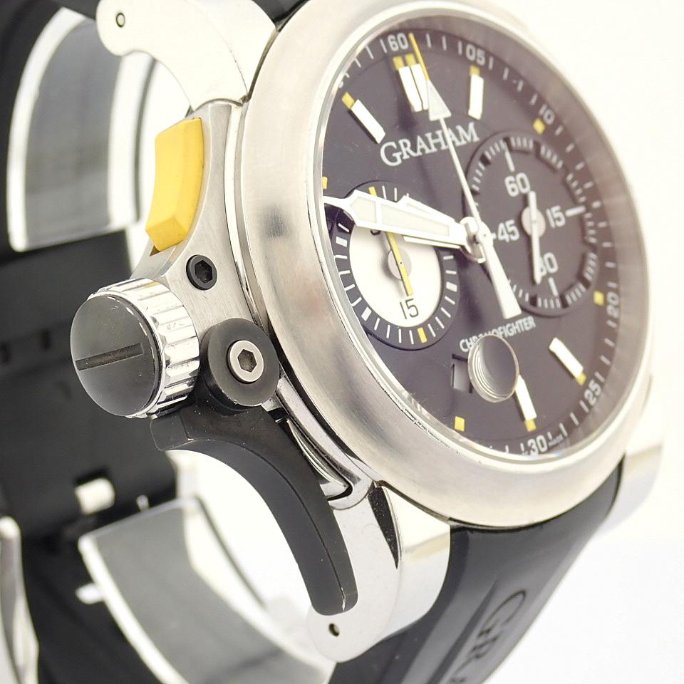 Graham / Chronofighter RAC Trigger - Gentlemen's Steel Wrist Watch - Image 10 of 14