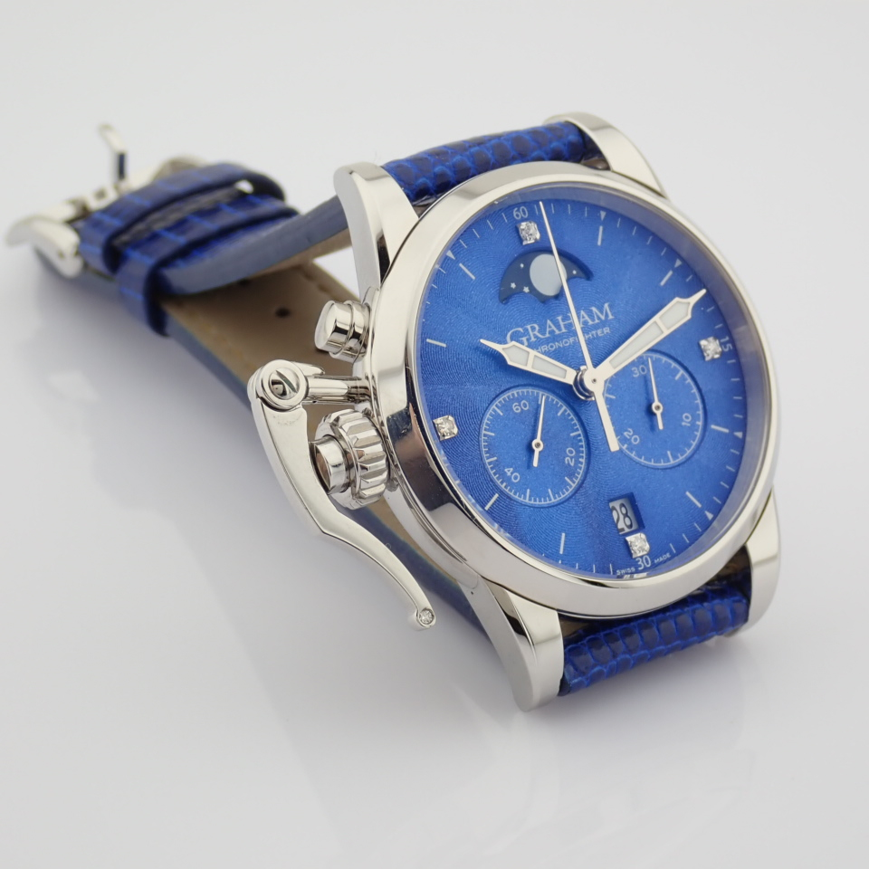 Graham / Chronofighter Lady Moon - Lady's Steel Wrist Watch - Image 8 of 15