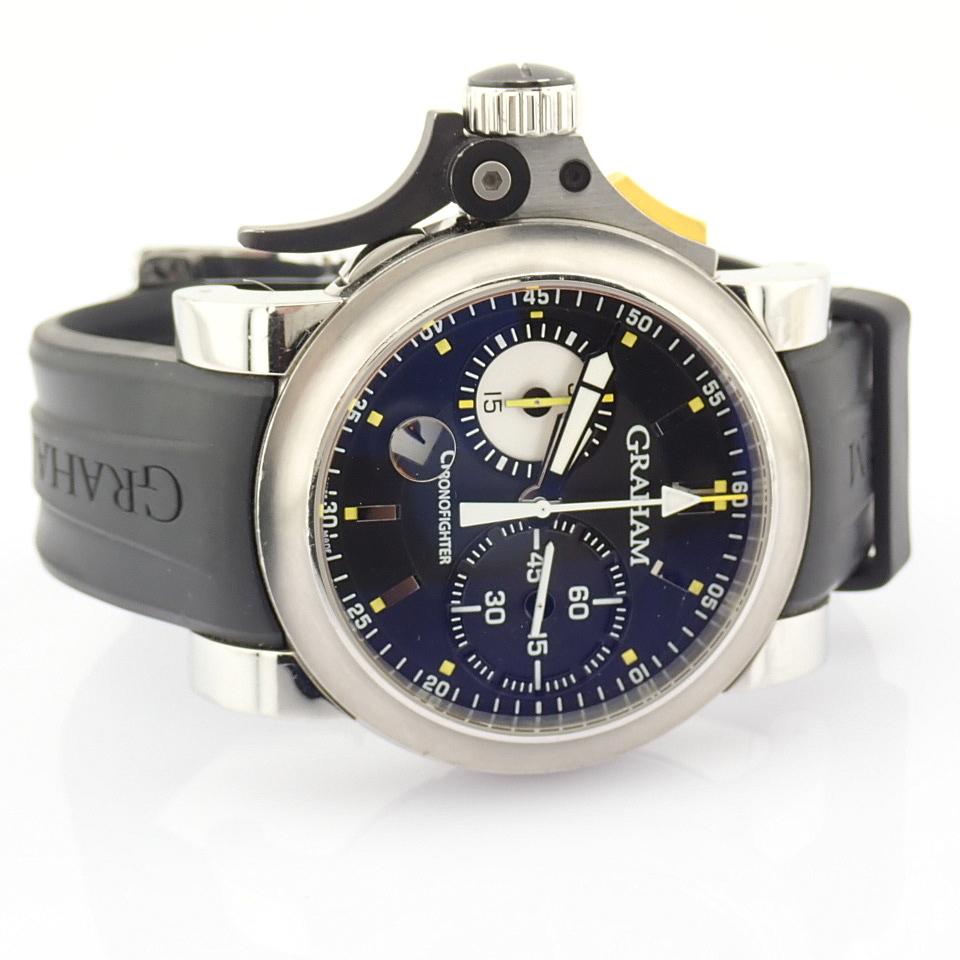 Graham / Chronofighter RAC Trigger - Gentlemen's Steel Wrist Watch - Image 12 of 14