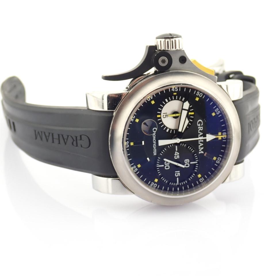 Graham / Chronofighter RAC Trigger - Gentlemen's Steel Wrist Watch - Image 14 of 14
