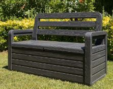 (R10K) 1x Toomax Forever Spring Bench Anthracite RRP £145.