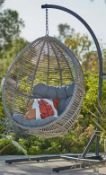 (R16) 1x Hartington Florence Collection Hanging Chair RRP £350