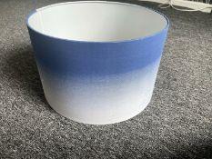 Blue Drum Pendant Brand New
