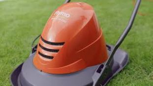 (R11A) 2x Flymo Turbo Lite 250 Electric Hover Lawnmower RRP £69 Each.