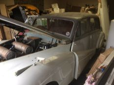Armstrong Siddley Sapphire.1952.light restoration project