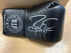 Barry McGuigan Signed Boxing Glove In Acrylic Box