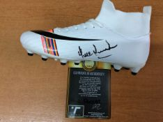 Paul Parker Manchester United Signed Football Boot