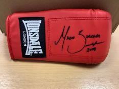 Marco Antonio Barrera Signed Boxing Glove