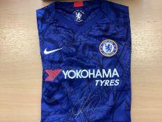 Mason Mount Signed Chelsea Football Shirt