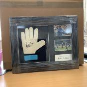 Peter Shilton Signed Glove Framed