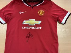 Anthony Martial Signed Manchester United Shirt