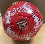 Arsenal Ball Hand Signed By Pierre Emerick Aubameyang