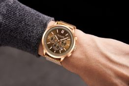 Ltd Ed Hand Assembled Gamages Omniscient Automatic Two-Tone Black - 5YR Warranty & Free Delivery