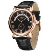 Ltd Edition Hand Assembled Gamages Split Date Automatic Rose - 5 Year Warranty & Free Delivery