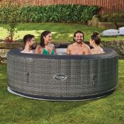 1x Clever Spa Matara RRP £500. 6 Person Inflatable 130 Air Jet Hot Tub. Unit Turns On & Inflates. W