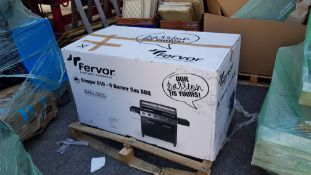 1x Fervour Ranger 610 6 Burner Gas BBQ RRP £600. Unit Appears As New. All In Unopened Original Pac