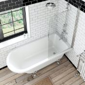 3 x Mixed Baths To Include. Traditional Style Single Ended Roll Top Bath (Body Only). 2 x Single