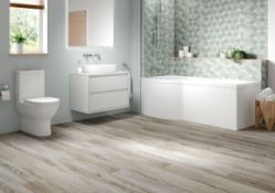 Pallet of bathroom stock with an approximate combined RRP £3833