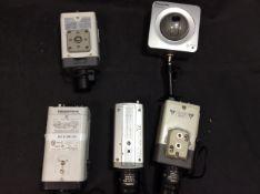5X CCTV To Include Sony Snc-Ch140
