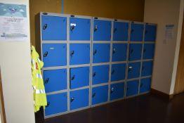 8 Locker Unit Qty 4, 4 Locker Unit Qty 3