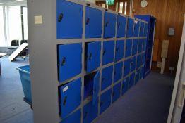 8 Locker Unit Qty 4, H2000x1000 Tambour door unit qty 5