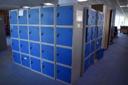 4 Locker Unit Qty 1, 8 Locker Unit Qty 4, H2000xW1000 Hinged Door Cabinet qty 3