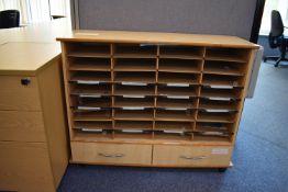 Hard Wired Corner Desk LH and RH, Desk Screen, Footrest, Coat Stand, Pedestals, Low Pigeon Unit